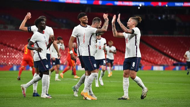 Timnas Inggris akan menghadapi lawan terberat di Grup D yaitu Kroasia di laga perdana Euro 2020 [Euro 2021].