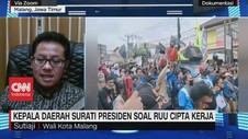 VIDEO: Kepala Daerah Surati Presiden Soal RUU Cipta Kerja