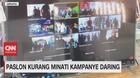 VIDEO: Paslon Kurang Minati Kampanye Daring
