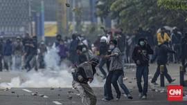 Ribuan Orang Ditangkap Demo Omnibus Law, Polisi Labeli Anarko