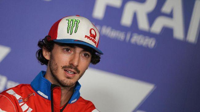 Pembalap Ducati, Francesco Bagnaia, harus merelakan pole position melayang dan harus start dari posisi ke-11 di MotoGP Portugal 2021.
