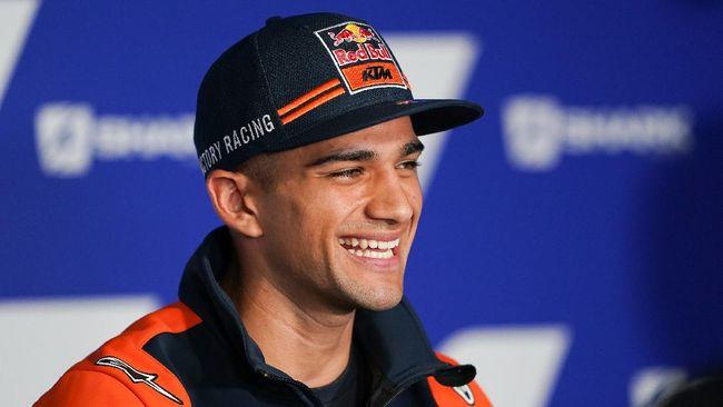 Pembalap rookie Jorge Martin sukses meraih pole position MotoGP Doha 2021 usai menjadi yang tercepat pada sesi kualifikasi di Sirkuit Losail.