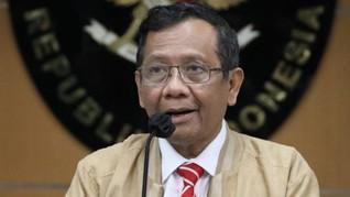 Mahfud Wacanakan Tambah Aparat di Papua: Yang Menolak Itu KKB