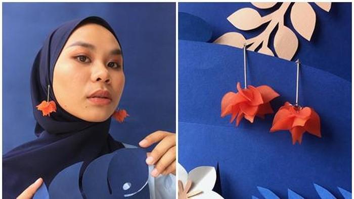 PINRINGS, Anting Hijab Model Terbaru Buatan Tangan Kreatif Hijabers Cantik Ini!