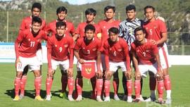 FOTO: Timnas Indonesia U-19 Menang Mudah atas Dugopolje