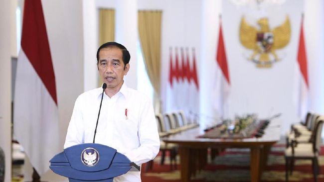 Presiden Joko Widodo mengutip rilis Bank Dunia dalam cuitannya terkait dukungan lembaga itu atas penerbitan Omnibus Law