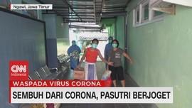 VIDEO: Sembuh Dari Corona, Pasutri Berjoget