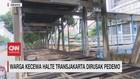 VIDEO: Warga Kecewa Halte Transjakarta Dirusak Pendemo