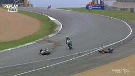 VIDEO: Luca Marini Kecelakaan Hebat di FP2 GP Prancis