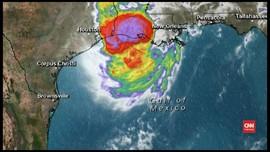VIDEO: Badai Delta Hantam Louisiana, 10 Ribu Warga Dievakuasi