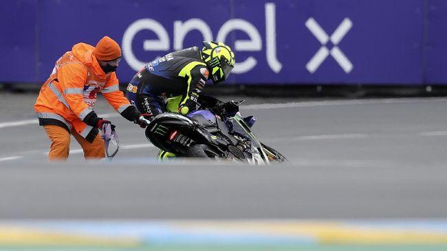 Valentino Rossi berharap tidak mengulangi tragedi tikungan pertama pada MotoGP Prancis 2021 yang akan berlangsung di Sirkuit Le Mans.