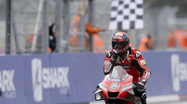 Berikut sejumlah fakta menarik usai Danilo Petrucci menang MotoGP Prancis 2020 di Sirkuit Le Mans.