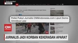 VIDEO: Jurnalis Jadi Korban Kekerasan Aparat