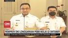 VIDEO: Pemprov DKI Longgarkan PSBB Mulai 12 Oktober