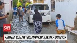 VIDEO: Ratusan Rumah Terdampak Banjir & Longsor di Jakarta