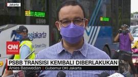VIDEO: Longgarkan Rem Darurat, PSBB Transisi Diterapkan Lagi