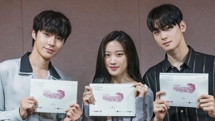 Cha Eun Woo DKK Lakukan Pembacaan Naskah Pertama untuk