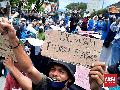 2 Mahasiswa Ambon Jadi Tersangka Demo Berujung Kericuhan