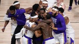 Nama Kobe Bryant Menggema Usai Lakers Juara NBA