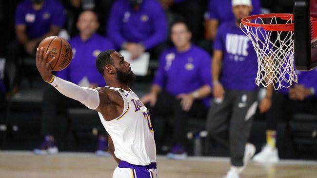 Lakers Juara Lebron James Masuk Big Three Cincin Nba