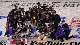 FOTO: Lakers Juara NBA 2020