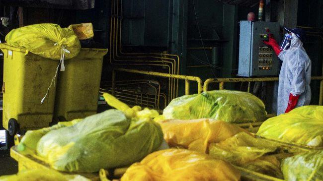 Pemerintah berencana menyiapkan titik penampungan limbah medis untuk pasien Covid-19 yang melakukan isolasi mandiri.