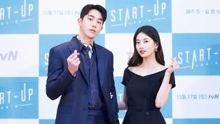 Duet Start-Up Nam Joo-hyuk dan Bae Suzy Masuk Forbes Under 30