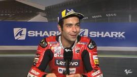 VIDEO: Petrucci Bicara Kemenangan di MotoGP Prancis