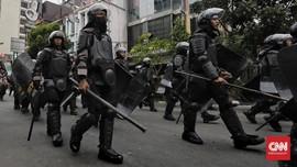 Pasukan Brimob Anti-anarki Siaga Pasca-penembakan Laskar FPI