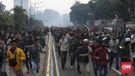 500 Orang Ditangkap Polisi saat Demo 1310