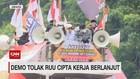 VIDEO: Demo Tolak RUU Cipta Kerja Berlanjut