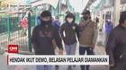 VIDEO: Hendak Ikut Demo, Belasan Pelajar Diamankan