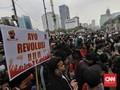 Polisi Kawal Pedemo dari Tangerang Menuju DKI, Jalanan Macet