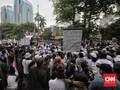 Demo FPI Bantah Menteri: Justru Omnibus Law Ditunggangi Asing
