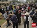 Bubarkan Demo Tolak Omnibus, Polisi Tangkap Sejumlah Orang