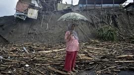 FOTO : Tiga Kecamatan di Garut Diterjang Banjir Bandang