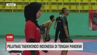 VIDEO: Pelatnas Taekwondo Indonesia di Tengah Pandemi