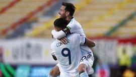 FOTO: Messi Absen Cetak Gol, Argentina Tekuk Bolivia 2-1