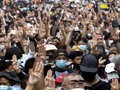 Demonstran di Depan Rumah PM Thailand Ditembaki Peluru Karet