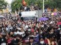 Dituduh Serang Ratu, Dua Pedemo di Thailand Ditangkap