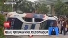 VIDEO: Pelaku Perusakan Mobil Polisi saat Demo Ditangkap