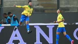 FOTO: Neymar Menggila, Brasil Hajar Peru 4-2