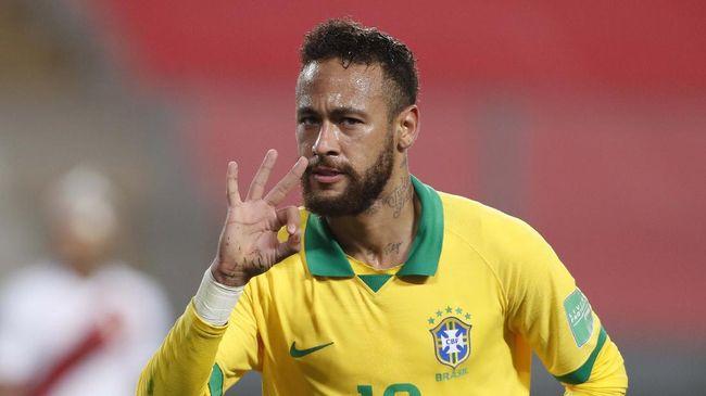 Neymar melalui perwakilannya membantah menggelar pesta lima hari dengan mengundang 500 tamu di masa pandemi Covid-19.