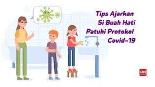 VIDEO: Tips Agar Si Buah Hati Patuhi Protokol Covid-19