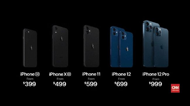 iPhone 12 diprediksi dijual di Indonesia pada pertengahan Desember 2020.