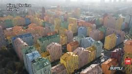 VIDEO: Comfort Town, Apartemen Warna-Warni di Kota Kiev