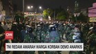 VIDEO: TNI Redam Amarah Warga Korban Demo Anarkis