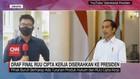 VIDEO: Draf Final RUU Cipta Kerja Diserahkan ke Presiden