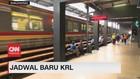 VIDEO: Seiring PSBB Transisi, PT. KCI Rilis Jadwal Baru KRL