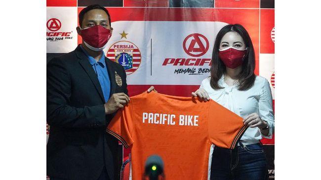 Produsen sepeda Pacific Bike berkolaborasi dengan Persija menghadirkan sepeda edisi khusus Macan Kemayoran.